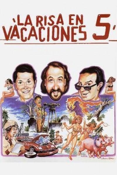 Caratula, cartel, poster o portada de La risa en vacaciones 5