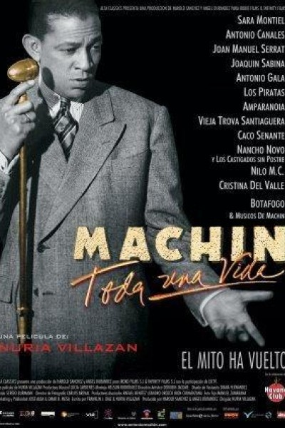 Caratula, cartel, poster o portada de Machín: Toda una vida