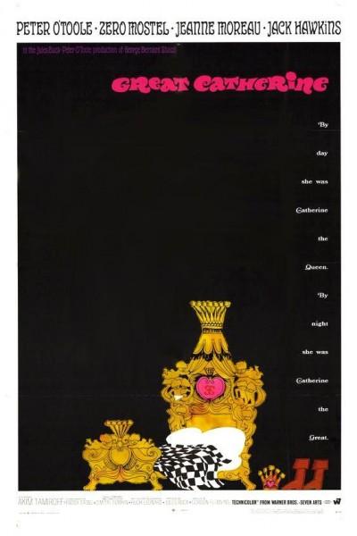 Caratula, cartel, poster o portada de Catalina la Grande