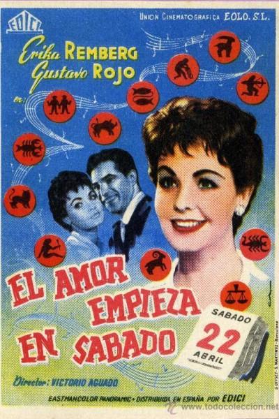 Caratula, cartel, poster o portada de El amor empieza en sábado