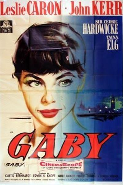 Caratula, cartel, poster o portada de Gaby