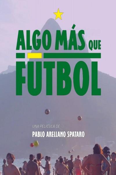 Caratula, cartel, poster o portada de Algo más que fútbol