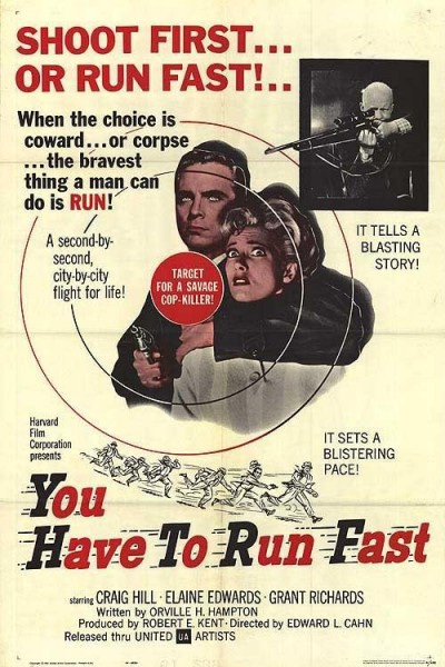 Caratula, cartel, poster o portada de You Have to Run Fast