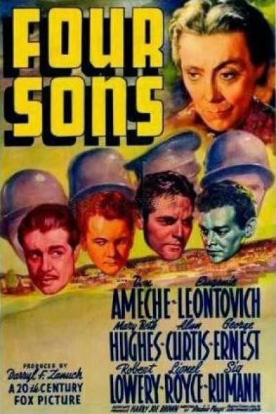 Caratula, cartel, poster o portada de Four Sons