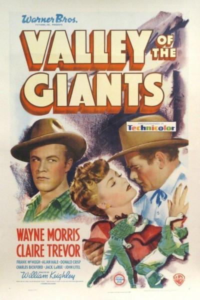 Caratula, cartel, poster o portada de El valle de los gigantes