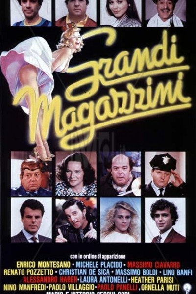Caratula, cartel, poster o portada de Grandi magazzini