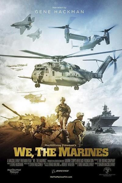 Caratula, cartel, poster o portada de We, the Marines