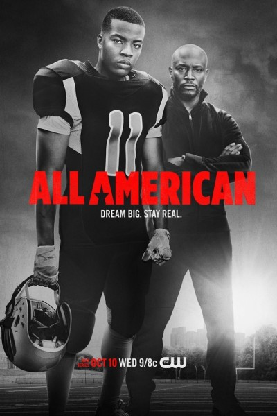 Caratula, cartel, poster o portada de All American