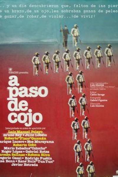 Caratula, cartel, poster o portada de A paso de cojo