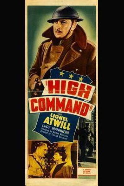 Caratula, cartel, poster o portada de Alto comando
