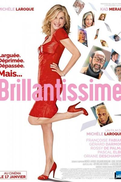 Caratula, cartel, poster o portada de Una mujer brillante