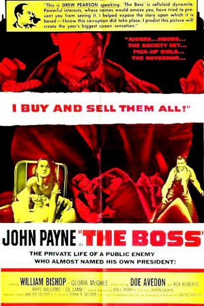 Caratula, cartel, poster o portada de The Boss
