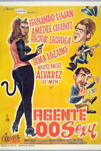 Caratula, cartel, poster o portada de Agente 00 Sexy