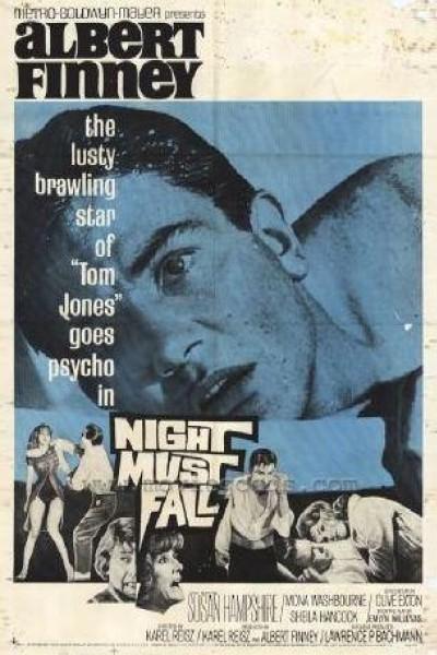 Caratula, cartel, poster o portada de Night Must Fall