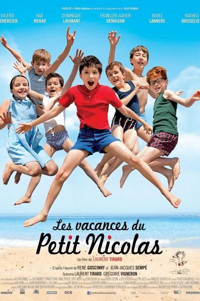 Caratula, cartel, poster o portada de Les vacances du petit Nicolas