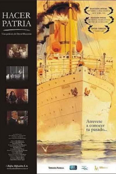 Caratula, cartel, poster o portada de Hacer patria