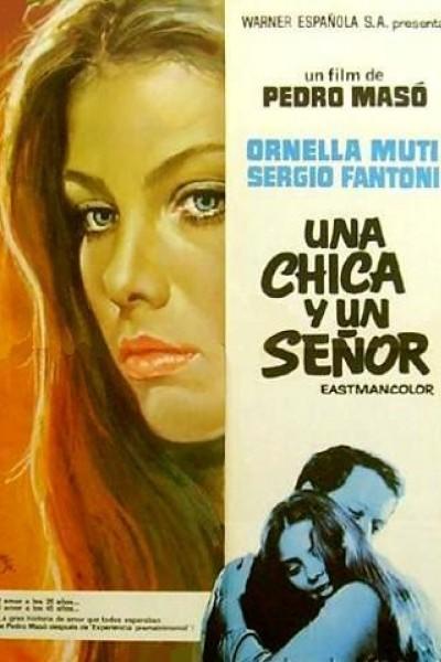 Caratula, cartel, poster o portada de Una chica y un señor