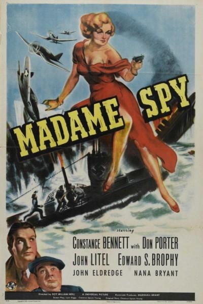Caratula, cartel, poster o portada de Madame Spy