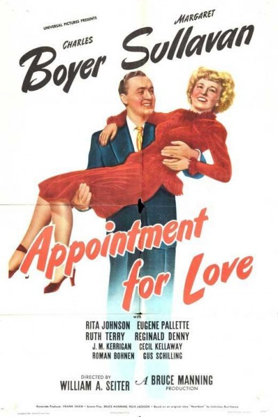 Caratula, cartel, poster o portada de Appointment for Love
