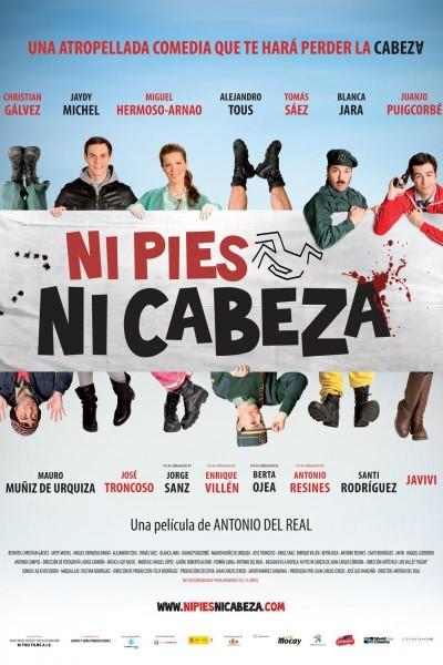 Caratula, cartel, poster o portada de Ni pies ni cabeza