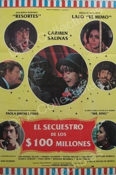 Caratula, cartel, poster o portada de El secuestro de los cien millones