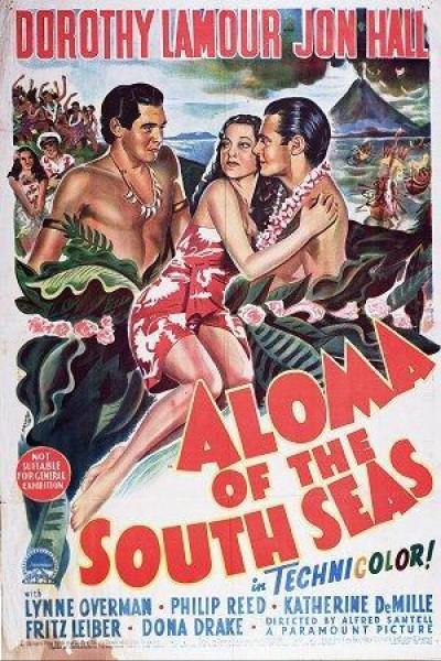 Caratula, cartel, poster o portada de Aloma of the South Seas