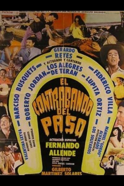 Caratula, cartel, poster o portada de El contrabando del Paso