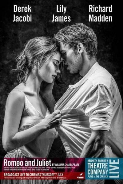 Caratula, cartel, poster o portada de Branagh Theatre Live: Romeo and Juliet