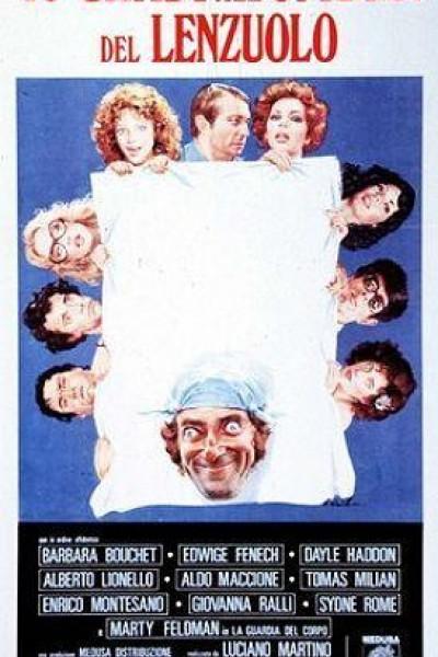 Caratula, cartel, poster o portada de Cuarenta grados a la sombra de la sábana blanca