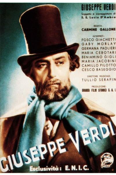 Caratula, cartel, poster o portada de Giuseppe Verdi