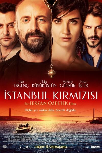 Caratula, cartel, poster o portada de Istanbul Kirmizisi (Rosso Istanbul)