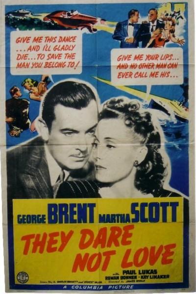 Caratula, cartel, poster o portada de They Dare Not Love
