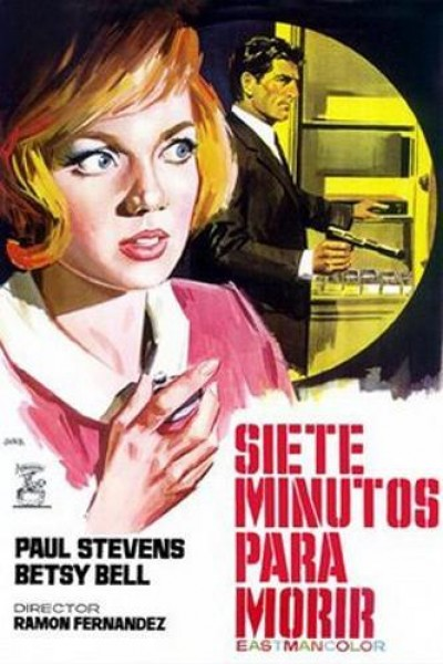 Caratula, cartel, poster o portada de Siete minutos para morir