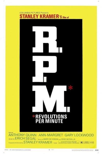 Caratula, cartel, poster o portada de R.P.M. Revoluciones Por Minuto