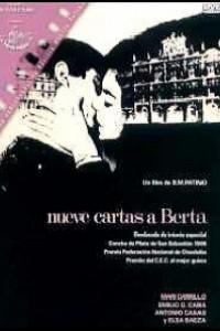 Caratula, cartel, poster o portada de Nueve cartas a Berta