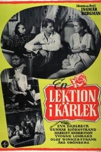 Caratula, cartel, poster o portada de Una lección de amor