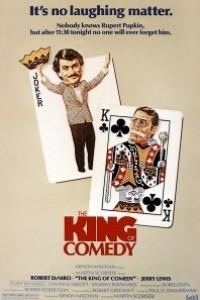 Caratula, cartel, poster o portada de El rey de la comedia