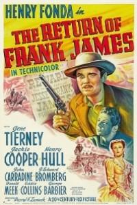 Caratula, cartel, poster o portada de La venganza de Frank James
