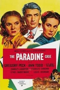 Caratula, cartel, poster o portada de El proceso Paradine