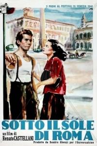 Caratula, cartel, poster o portada de Bajo el sol de Roma