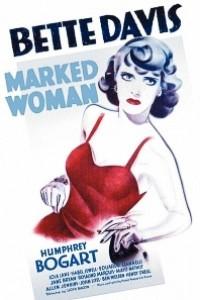 Caratula, cartel, poster o portada de La mujer marcada