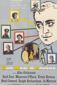 Caratula, cartel, poster o portada de Nuestro hombre en La Habana