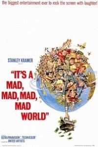 Caratula, cartel, poster o portada de El mundo está loco, loco, loco