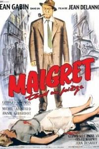 Caratula, cartel, poster o portada de El comisario Maigret
