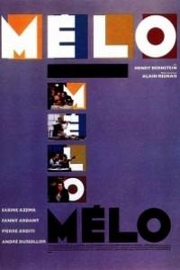 Caratula, cartel, poster o portada de Mélo