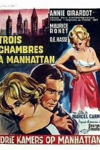 Caratula, cartel, poster o portada de Tres habitaciones en Manhattan