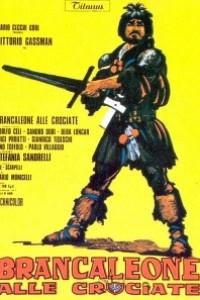 Caratula, cartel, poster o portada de Brancaleone en las cruzadas