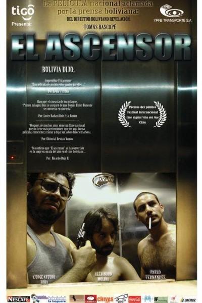 Caratula, cartel, poster o portada de El ascensor