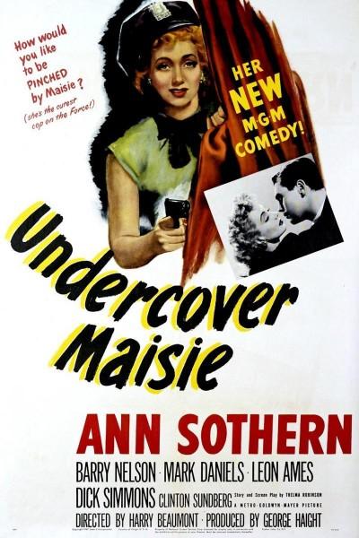 Caratula, cartel, poster o portada de Undercover Maisie