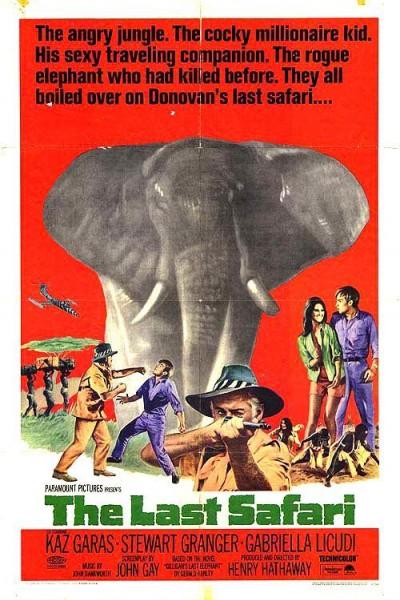 Caratula, cartel, poster o portada de El último safari